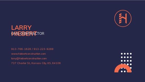 Civil Contractor Business Card Template 1.jpe