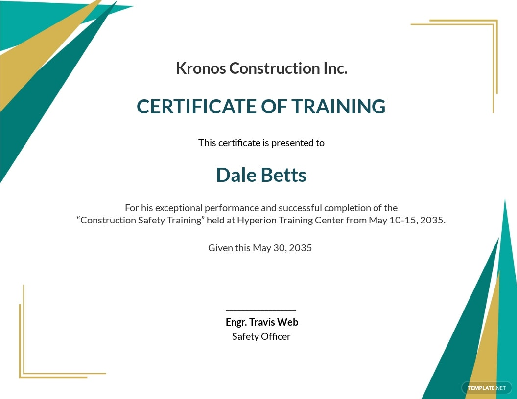Construction Safety Training Certificate Template.jpe