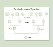 Family Genogram Template in Microsoft Word | Template.net