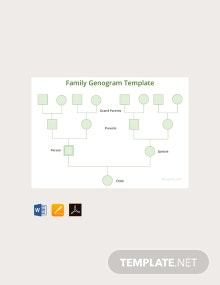Free Family Genogram Template