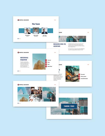 building Presentation Tempate