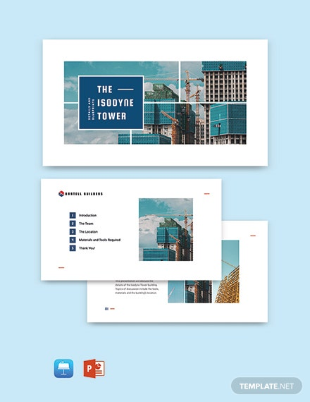 Building Presentation Template