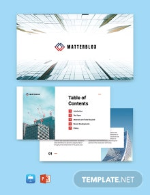 Building Materials Presentation Template