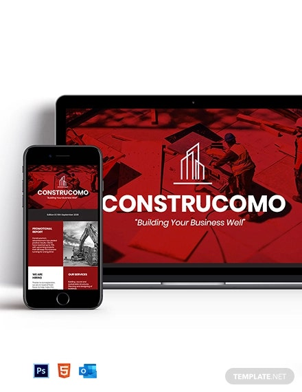 Constructional Promotional Newsletter