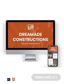 Free General Contractor Newsletter Template