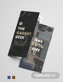 Free One Page Product Brochure Template