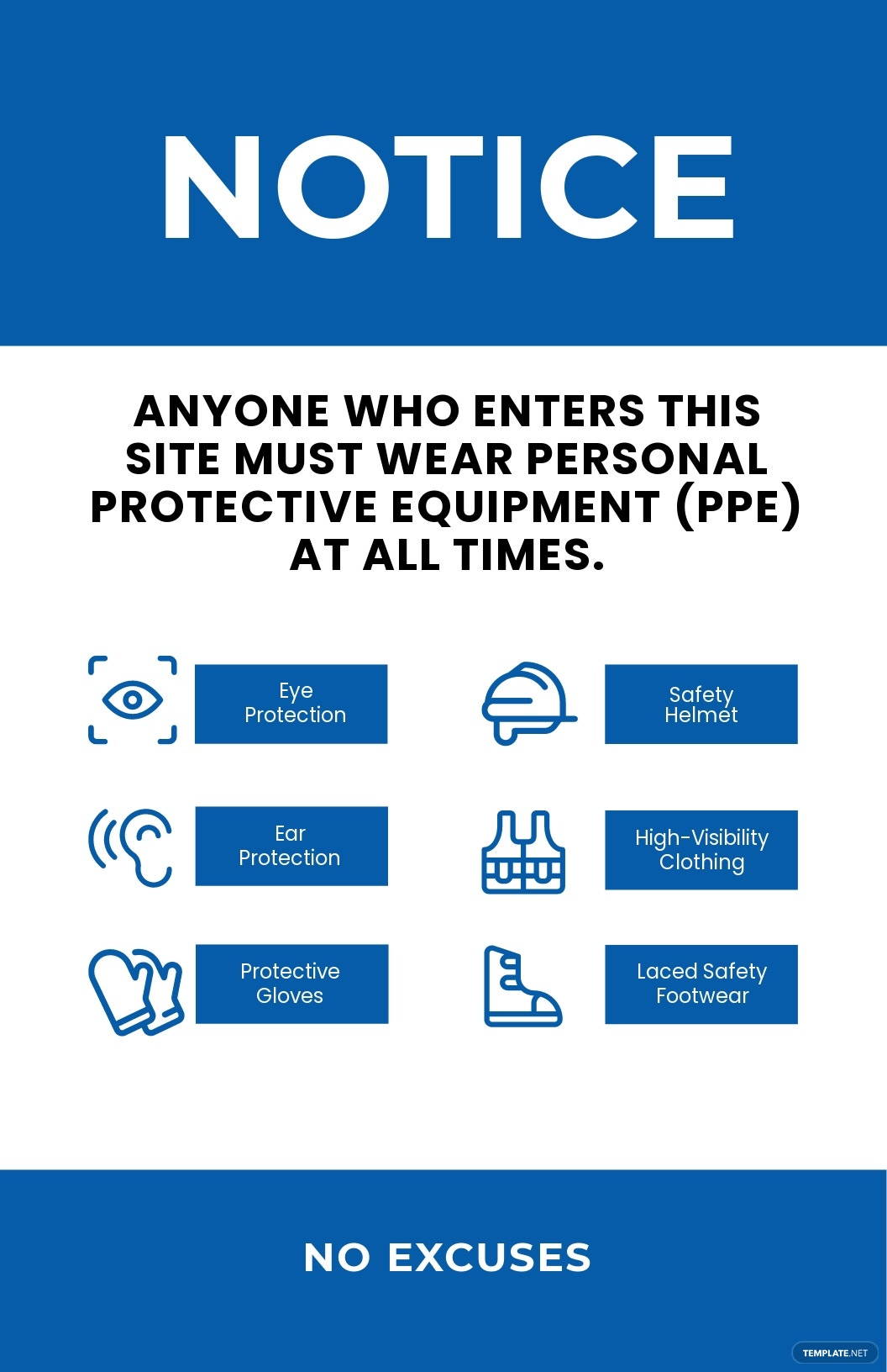 Personal Protective Equipment (PPE) Poster Template.jpe