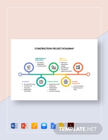 Construction Project Roadmap Template