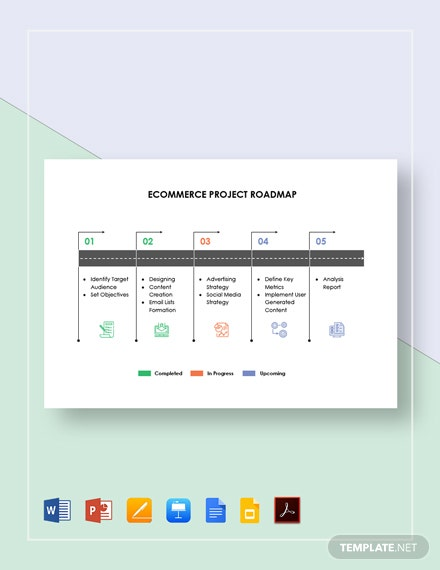 Ecommerce Project Roadmap Template