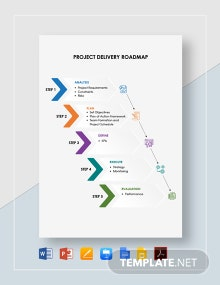 Project Delivery Roadmap Template