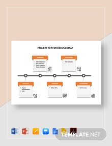Project Execution Roadmap Template
