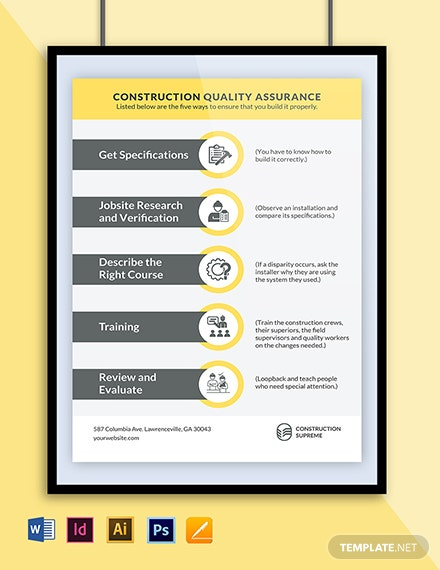 Quality Awareness Poster Template