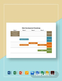 Web Development Roadmap Template