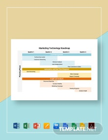 Marketing Technology Roadmap Template