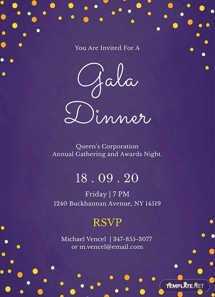 Free gala dinner night invitation template download 344 free gala dinner night invitation template stopboris Image collections