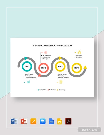 Brand Communication Roadmap Template