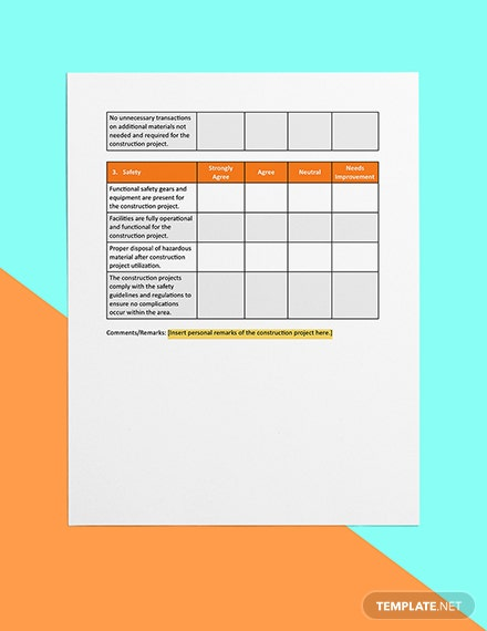 Construction Project Startup Checklist Download