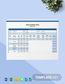 Construction Project Cost Estimate Template