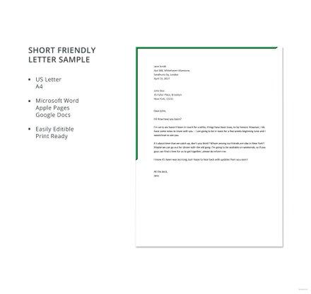 Internship cover letter outline