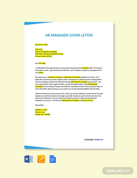 Free Contract Clinical Research Associate Cover Letter Template
