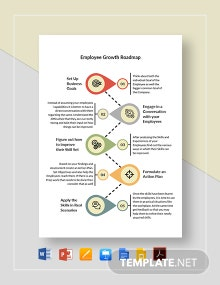Employee Growth Roadmap Template