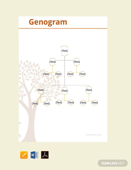 Free Genogram Example Template