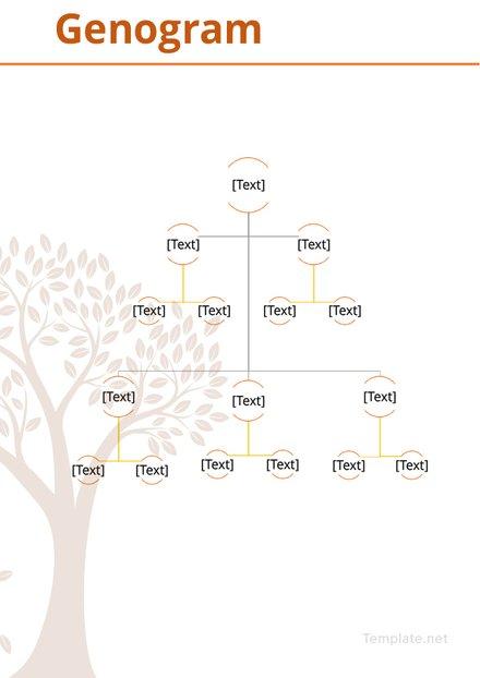 Genogram Example Template
