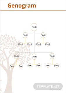 Genogram Example Template