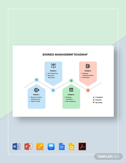 Business Management Roadmap Template