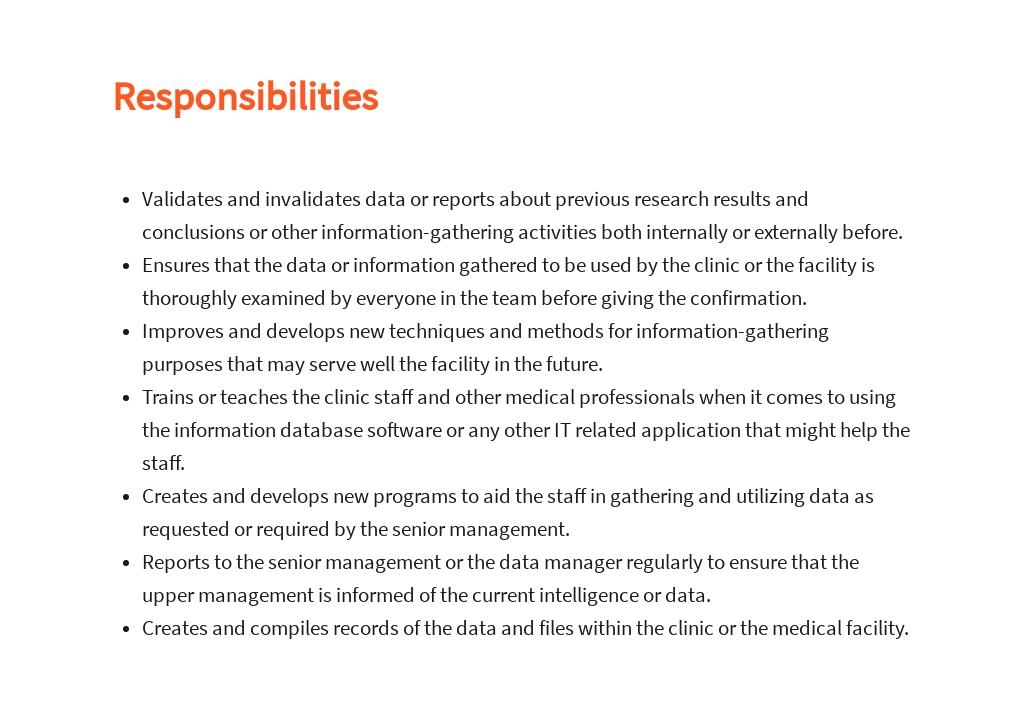 Free Clinical Data Analyst Job Description Template 3.jpe