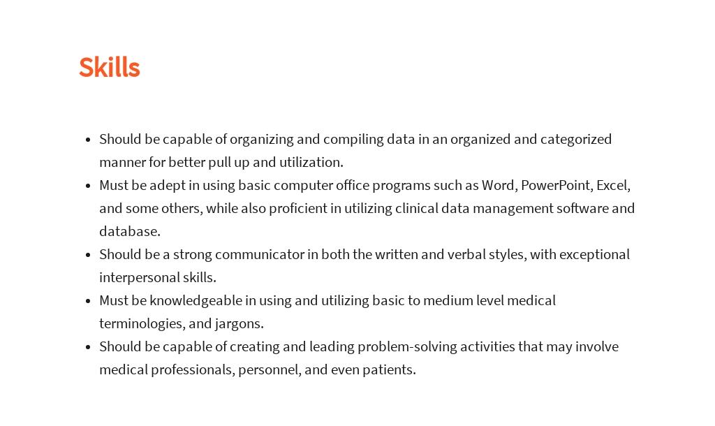 Free Clinical Data Analyst Job Description Template 4.jpe