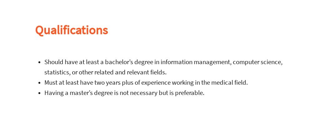 Free Clinical Data Analyst Job Description Template 5.jpe