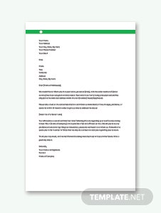 Order Acknowledgement Letter Template