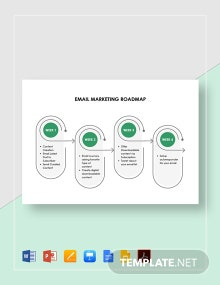Email Marketing Roadmap Template