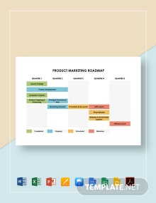 Product Marketing Roadmap Template