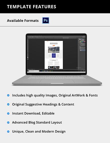 Editable Software Company website Template