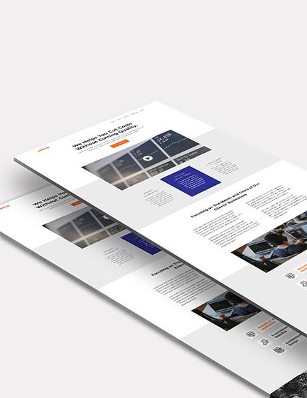 Software Company  Website Templat