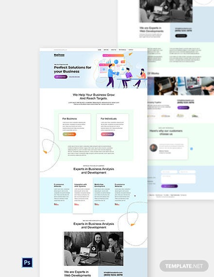 Free Software Agency Website Template