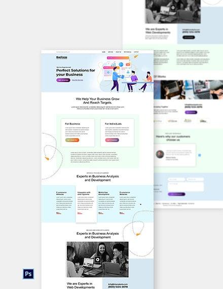 Software Agency Website