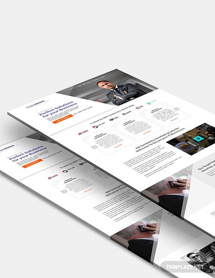 IT Startup Company Website Template
