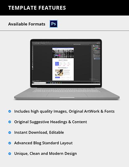 Editable IT Company Website Template