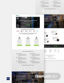 Domain & Hosting Provider Website Template