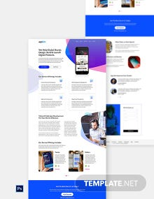 App Development Website Template