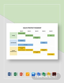 Sales Strategy Roadmap Template