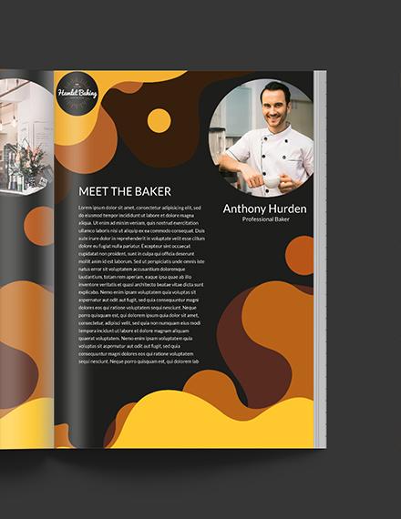 Free Editable Baking Business Media Kit Template