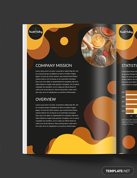 Free Downloadable Baking Business Media Kit Template