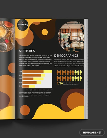 Free Printable Baking Business Media Kit Template
