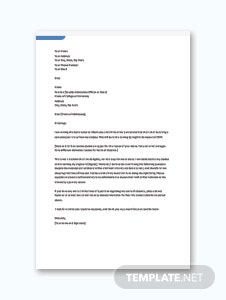 Leave letter format in microsoft word apple pages google docs school leave letter template altavistaventures Gallery