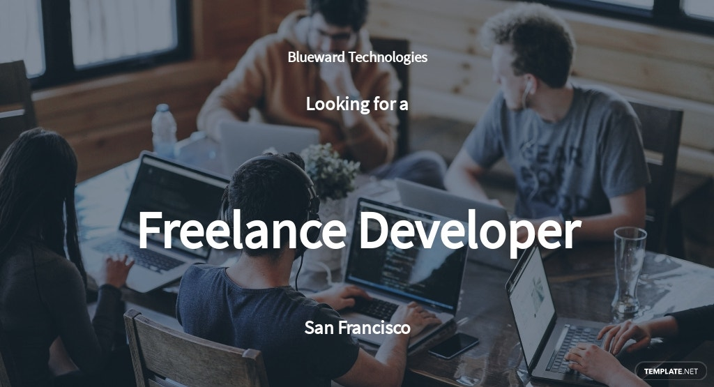 Freelance Developer Job Description Template