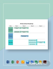 HR Recruitment Roadmap Template